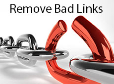 How to remove bad web links with Disavow
